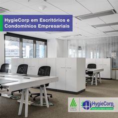 HygieCorp em Escritótios e Condomínios Empresariais A HygieCorp com sua linha de produtos da Melhoramentos se tornou, ao longo dos anos, especialista no fornecimento de sistemas de higiene pessoa para banheiros de escritórios e condomínios empresariais e hoje é líder nesse segmento.