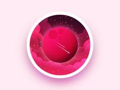 Exploration badge by Julien #Design Popular #Dribbble #shots