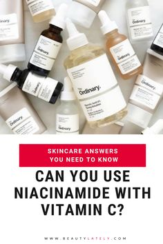 Learn more about niacinamide in skincare: how to use it, benefits, effectiveness, usage with other ingredients, and the best niacinamide products. Acne Prone Skin, Oily Skin, Anti Aging Skin Care, Natural Skin Care, Niacinamide Benefits, The Ordinary Niacinamide, Skin Care Tips, Healthy Skin, How To Apply