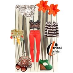 """""""tribal chic"""" by anthrofashionist on Polyvore"""