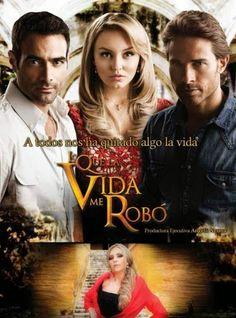Lo Que La Vida Me Robo. Es Telenovela de Mexico producir Angelli Nesma. Salío  en 2013. La Familía es en peligro financiera y Montserrat es forzada a casarse Alejandro a cambio de dinero
