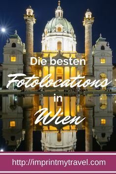 Die besten Fotolocations in Wien- unsere Geheimtipps We show you the best and most beautiful photo locations in Vienna! Great photo spots in Vienna for unforgettable travel photos! Places In Europe, Europe Destinations, Vienna Guide, Travel Around The World, Around The Worlds, Austria Travel, Travel Companies, Vienna Austria, Photo Location