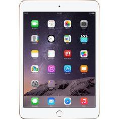 Apple - Refurbished iPad mini 3 - 128GB - Gold - Larger Front