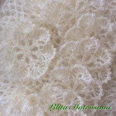 Лилита Матросова *[Lilita Matrosova] - (delicate white knitted flowers)