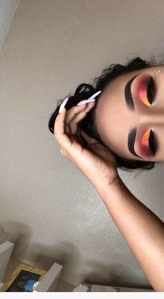 Ideas For Nails Yellow Matte Eye Makeup Ideas For Nails Yellow Matte Ey. Ideas For Nails Yellow Matte Eye Makeup Ideas For Nails Yel Glam Makeup, Matte Eye Makeup, Makeup Eye Looks, Eyeshadow Looks, Skin Makeup, Eyeshadow Makeup, Makeup Inspo, Pink Eyeshadow, Makeup Ideas