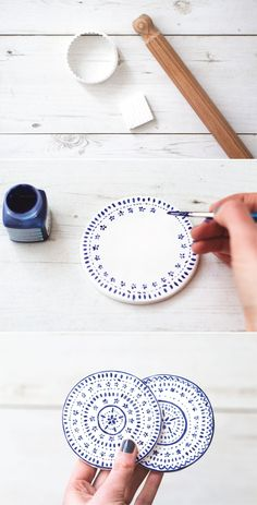 Check out how to make these easy DIY coasters to wow all your party guests. They're the perfect addition to your kitchen decor!