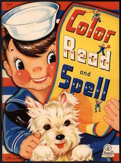 Uncolored Color Read And Spell 3470 Merrill 1943 1811