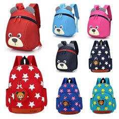 6.59 - Cute Baby Kids Backpack Cartoon Boys Girls School Bag Mini Bookbag  1Pc  ebay  Fashion def867f667fa5