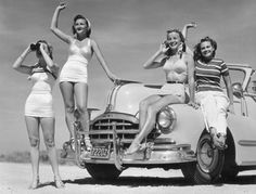 Vintage Fashion and Lifestyle 1950s Summer Clothes and History