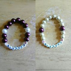 """Blessed"" Stretch Bracelets"