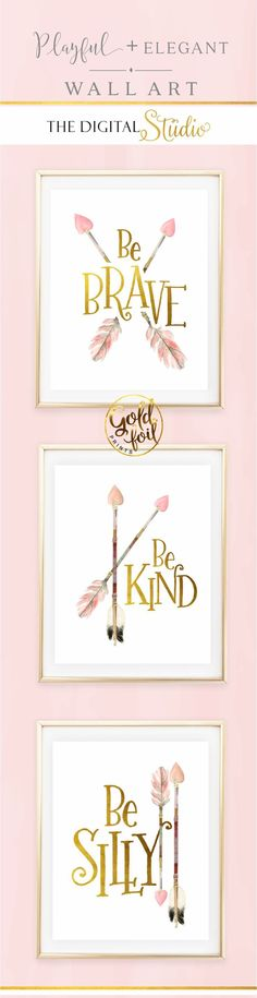 awesome awesome Baby Girl Nursery Wall Decor. Set of 3 Pink and Gold Wall Art. Little Gi... by http://www.top-homedecorideas.xyz/kids-room-designs/awesome-baby-girl-nursery-wall-decor-set-of-3-pink-and-gold-wall-art-little-gi/