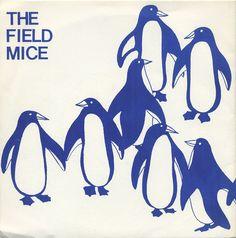 The Field Mice: Sensitive Album art Penguin Pictures, Vinyl Sleeves, Dream Pop, Album Cover Design, Music Clips, Indie Pop, Film Music Books, Post Punk, Field Mice