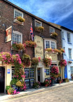 The King's Head pub in Deal, Kent, England