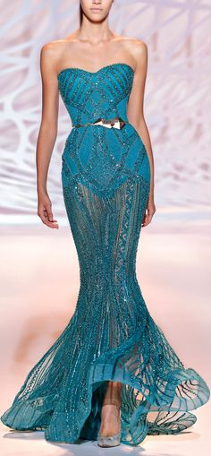 haute couture fashion – Gardening Tips Zuhair Murad, Couture 2015, Couture Fashion, Elegant Dresses, Pretty Dresses, Beautiful Gowns, Beautiful Outfits, Couture Dresses, Fashion Dresses