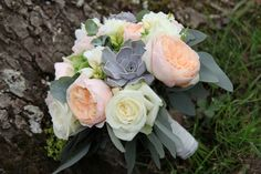 Vintage Map inspired Bridal Bouquet at Northbrook Park by Fiona Curry Flowers