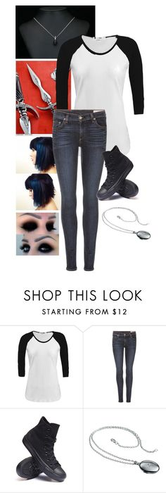 """""""Mutant"""" by daughteroflightning ❤ liked on Polyvore featuring rag & bone, Converse and Hot Diamonds"""