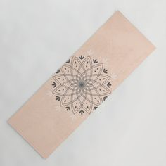 Bohemian Floral Mandala on Rose Pink Marble Yoga Mat by peladesign Pink Marble, Yoga Mats, Studio S, You Are Awesome, Latex Free, Great Artists, Wall Tapestry, Pink Roses, Heavy Metal