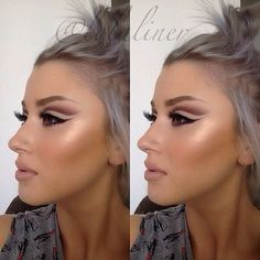 Soulful Charm - Cut Crease Eyeshadow Techniques That Are All Kinds of Chic - Photos #cutcreasestepbystep