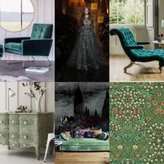 The Green Room: read about AW16 fashion/interiors trends on my blog: www.chariswhite.com