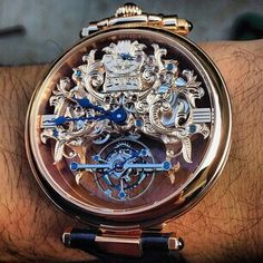 Bovet skeletonized tourbillon