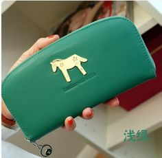 Gender: female  Wallet fold number: 1 fold  Internal structure: lane, loose change, zippers, screens  material: PU  PU features: soft face  Hardness: soft  Popular element: belt decoration  Style: Japan and South Korea  Handbag design: cartoon   Colour: brand new  Wallet styl...