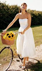 And this was my wedding dress for my perfect backyard wedding! <3