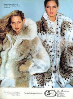 coyote & lynx fur jackets