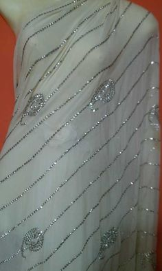 Mukaish work #partywear from #India.
