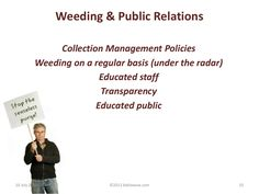 Weeding: The Ups and Downs of Library Collection Management Ups And Downs, Public Relations, Weeding, Fails, Management, Education, Collection, Grass, Weed Control