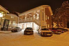 Le Lapland Lodge est un Bed & Breakfast construit dans la partie suédoise de la Laponie.