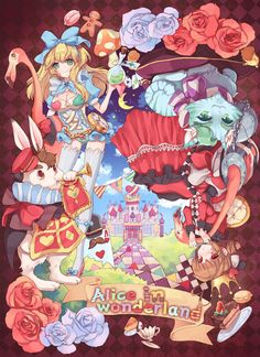 alice in wonderland by cherinova on deviantART