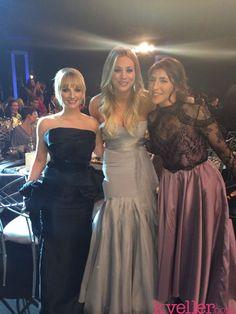 Mayim Bialik, Kaley Cuoco and Melissa Rauch. SAG Awards 2014