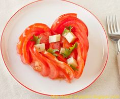 Spice Up Your Life With a Taste of Japan: Valentine Tomato Salad