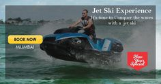 This recharge yourself while pampering with myriad of water sports. This exhilarating activity encapsulates the thrill of riding powerful and fun of being on the water simultaneously. Yamaha Engines, Mumbai News, New Year Special, Jet Ski, Water Sports, Waves, Journey, Boat, Explore