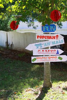 planning for a boy's birthday party