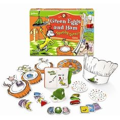 Amazon.com: Green Eggs and Ham Speedy Diner Game. Great for Following Directions