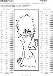 math worksheet : 1000 images about prealgebra on pinterest  integers subtracting  : Subtracting Integer Worksheets