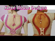 new blouse designs 2017-Blouse Back Neck models//Stylish and Trendy Bridal Blouse Back Neck Design - YouTube