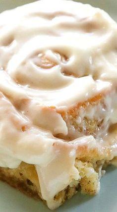 Soft Cinnamon Rolls ✿⊱╮