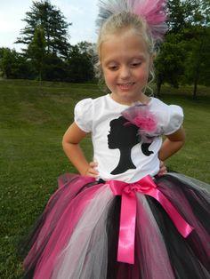 Girls Barbie Girl TuTu