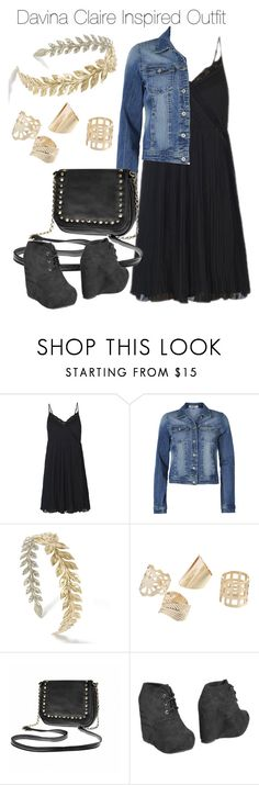 """""""The Originals - Davina Claire Inspired Outfit"""" by staystronng ❤ liked on Polyvore featuring ONLY, Ally Fashion, EXE', to, TheOriginals and DavinaClaire"""