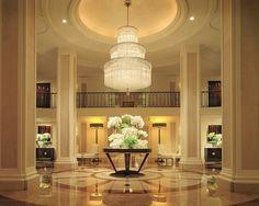 Beverly Wilshire lobby