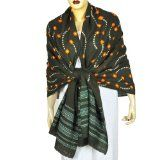 Indian Clothing Tie Dye Scarf Shawl Fashion Clothing Anniversary Gift 35 X 80 Inches (Apparel)By ShalinIndia