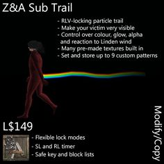 Introduction ==================== The Z&A Sub Trail is designed as an amusing and highly-visible means of augmenting or embarrassing your sub o. Flexibility, Trail, Make It Yourself, Life, Back Walkover