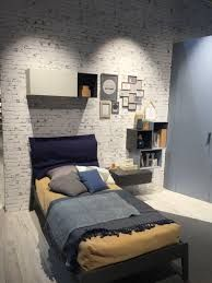 46 White Brick Wall Ideas for Your Room Brick Wallpaper Bedroom, Brick Wall Bedroom, White Brick Wallpaper, Look Wallpaper, Bedroom Door Design, White Brick Walls, White Bedroom Furniture, Brick Wall Paneling, Bedroom Layouts