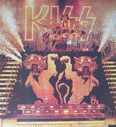 kiss on tour 1977 | Details about OFFICIAL KISS 1977 LOVE GUN BILL AUCOIN POSTER ORIGINAL