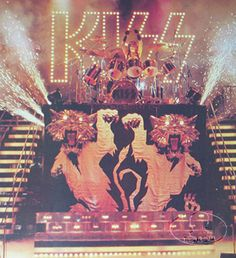 kiss on tour 1977 | Details about OFFICIAL KISS 1977 LOVE GUN BILL AUCOIN POSTER ORIGINAL