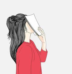 Cartoon Girl Images, Cartoon Art Styles, Girl Cartoon, Cover Wattpad, Cute Girl Drawing, Girly Drawings, Woman Illustration, Forest Illustration, Watercolor Illustration