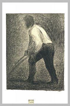 El labrador - Georges Seurat
