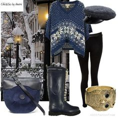 Winter blues | Women's Outfit | ASOS Fashion Finder